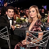 Pictured: Alex Greenwald and Brie Larson