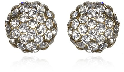 These sparkly pair of earrings are major bang for the buck. Marlyn Schiff Crystal Pave Studs ($32)