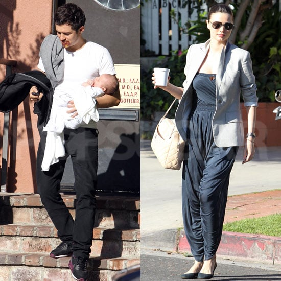 Pictures of Orlando Bloom and Miranda Kerr With Baby Flynn 2011-02-22 17:25:00