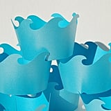 Wave Cupcake Wrappers