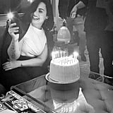 Demi Lovato's Birthday at Ariana Grande Concert 2019