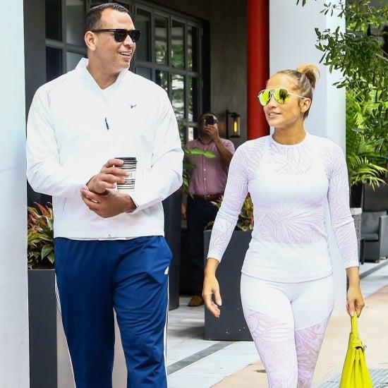 Jennifer Lopez Neon Hermès Bag