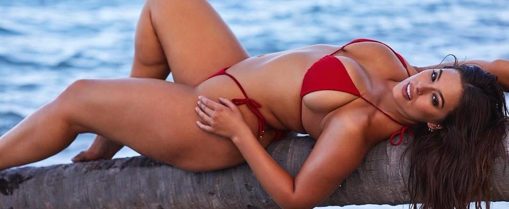 Ashley Graham's Red Bikini Is Literally Being Held Together by Strings