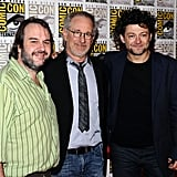 Peter Jackson, Steven Spielberg, and Andy Serkis