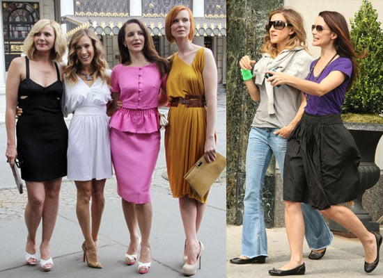 Photos of Kristin Davis With Sex and the City 2 Costars