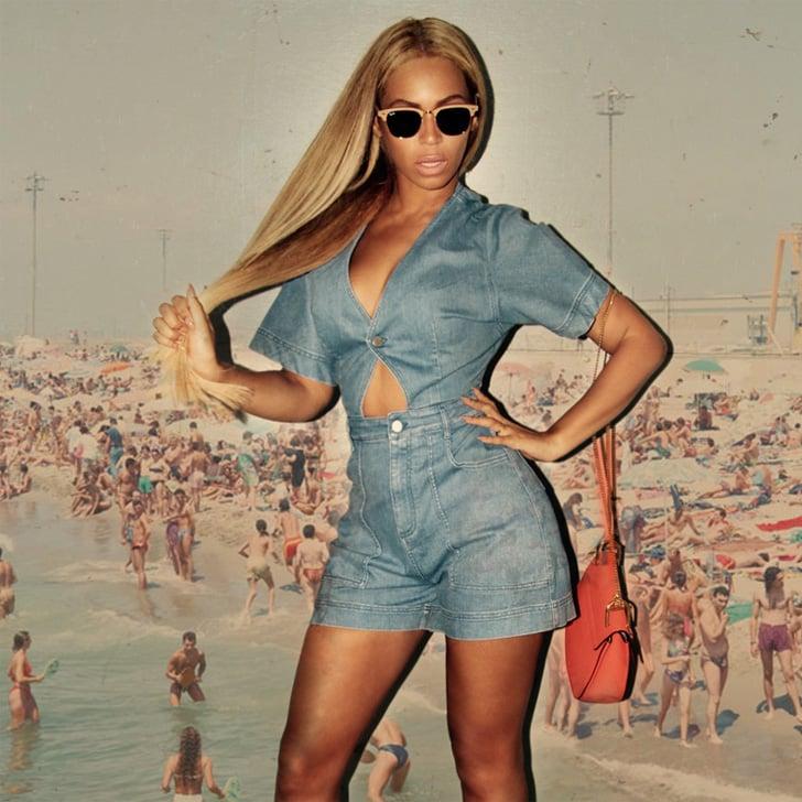 Beyonce's Denim Romper