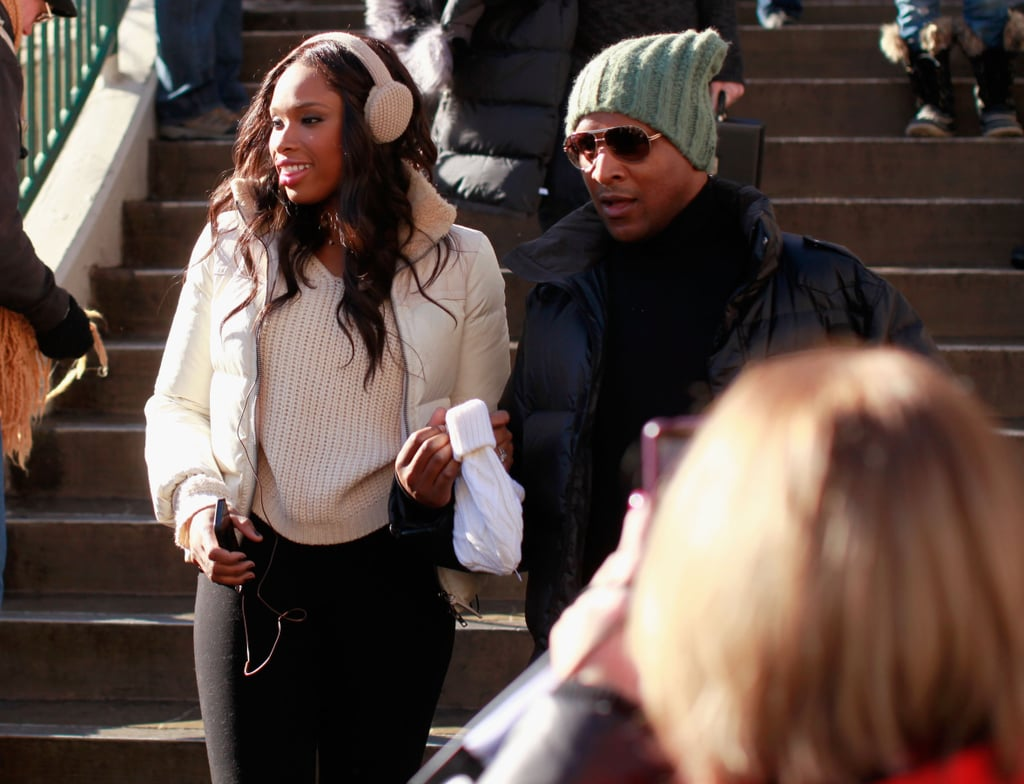 Jennifer Hudson was seen around Park City rocking some earmuffs, a must-have cold-weather staple.