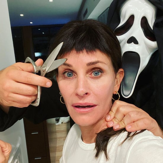 Courteney Cox Wore Her Scream 3 Bangs on Halloween 2020