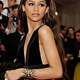 Zendaya's Matte Neutral Face at the Met Gala in 2015