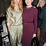 Stella McCartney and Justine Picardie
