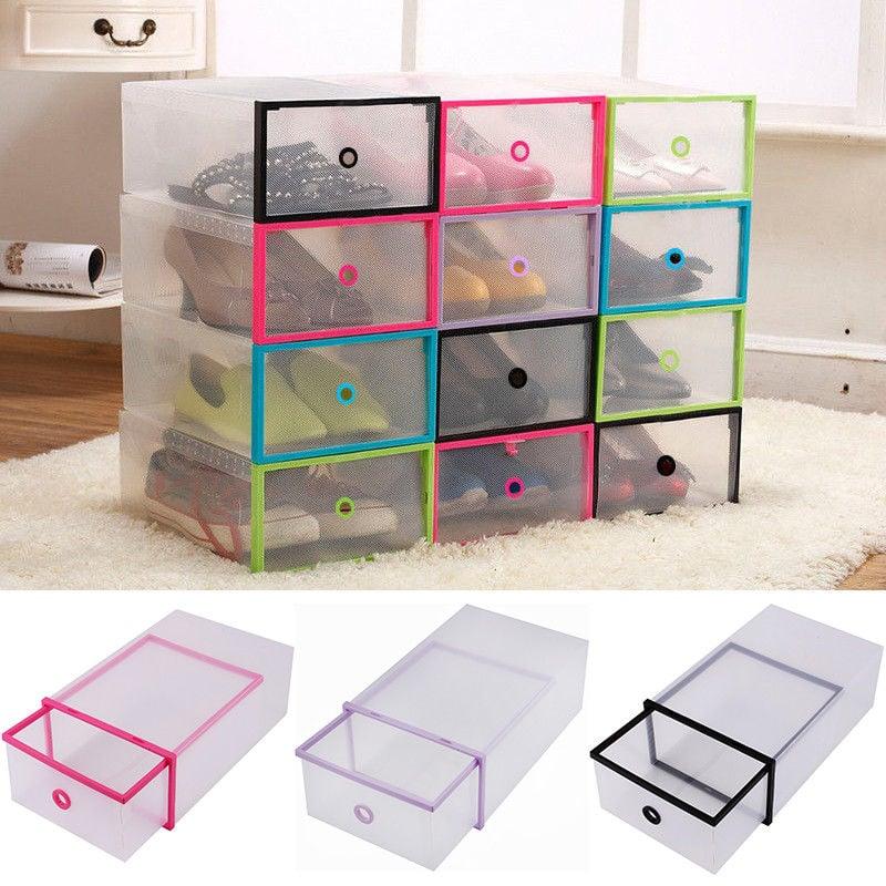 Yosoo 5PCS Shoe Box Drawer Home Organizers