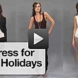 Party dress alternative for your upcoming holiday parties!