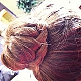 French-Braided Bun