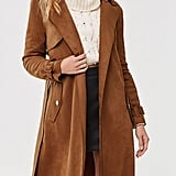 Forever 21 Faux Suede Duster Jacket