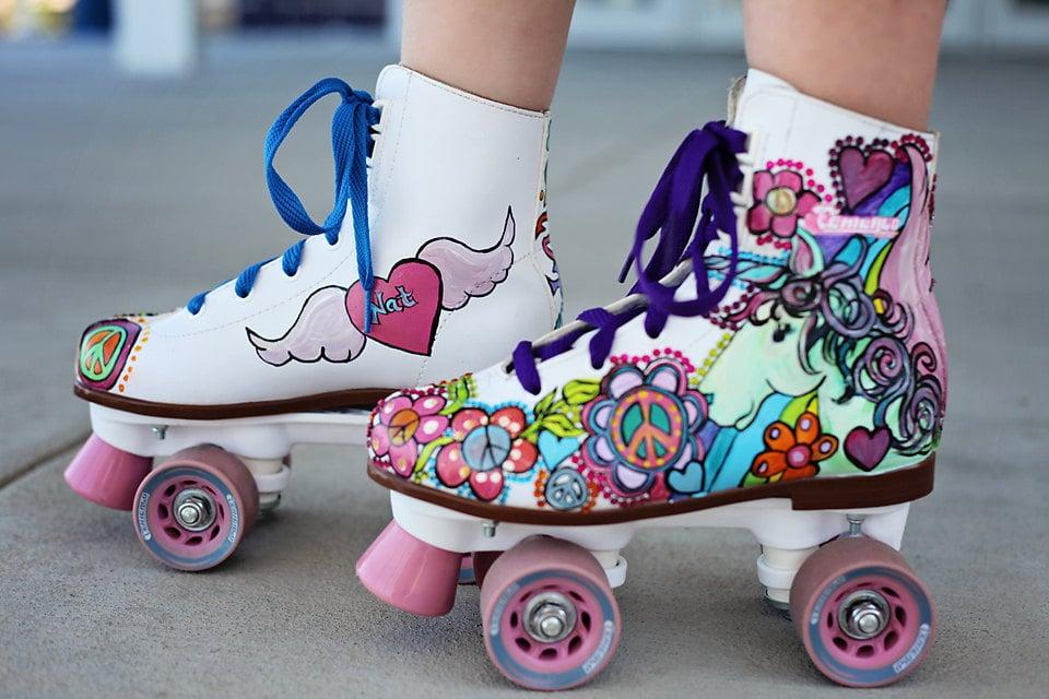 Unicorn Roller Skates ($230)