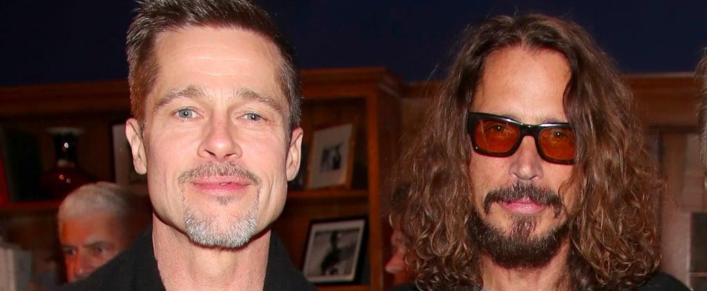 Brad Pitt Takes Chris Cornell's Kids to Universal Studios