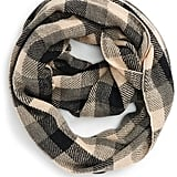 Girly Buffalo Check Infinity Scarf ($25)