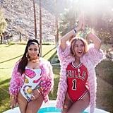 "Beyoncé and Nicki Minaj in the ""Feeling Myself"" Video"