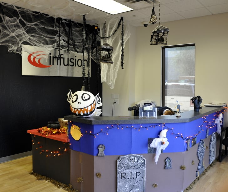 Cubicle Décor Ideas To Make Your Home Office Pop: Tips For Celebrating Halloween At