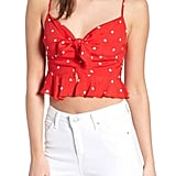 For Love and Lemons Natalia Crop Top