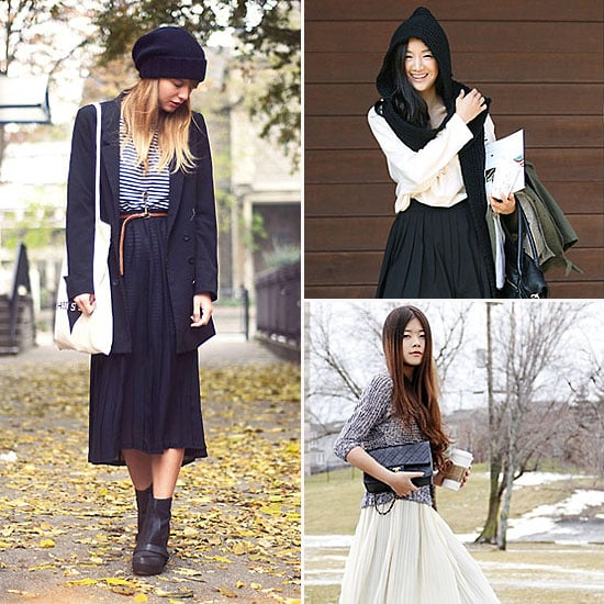 Pleated Skirt Styling Tips and Shopping