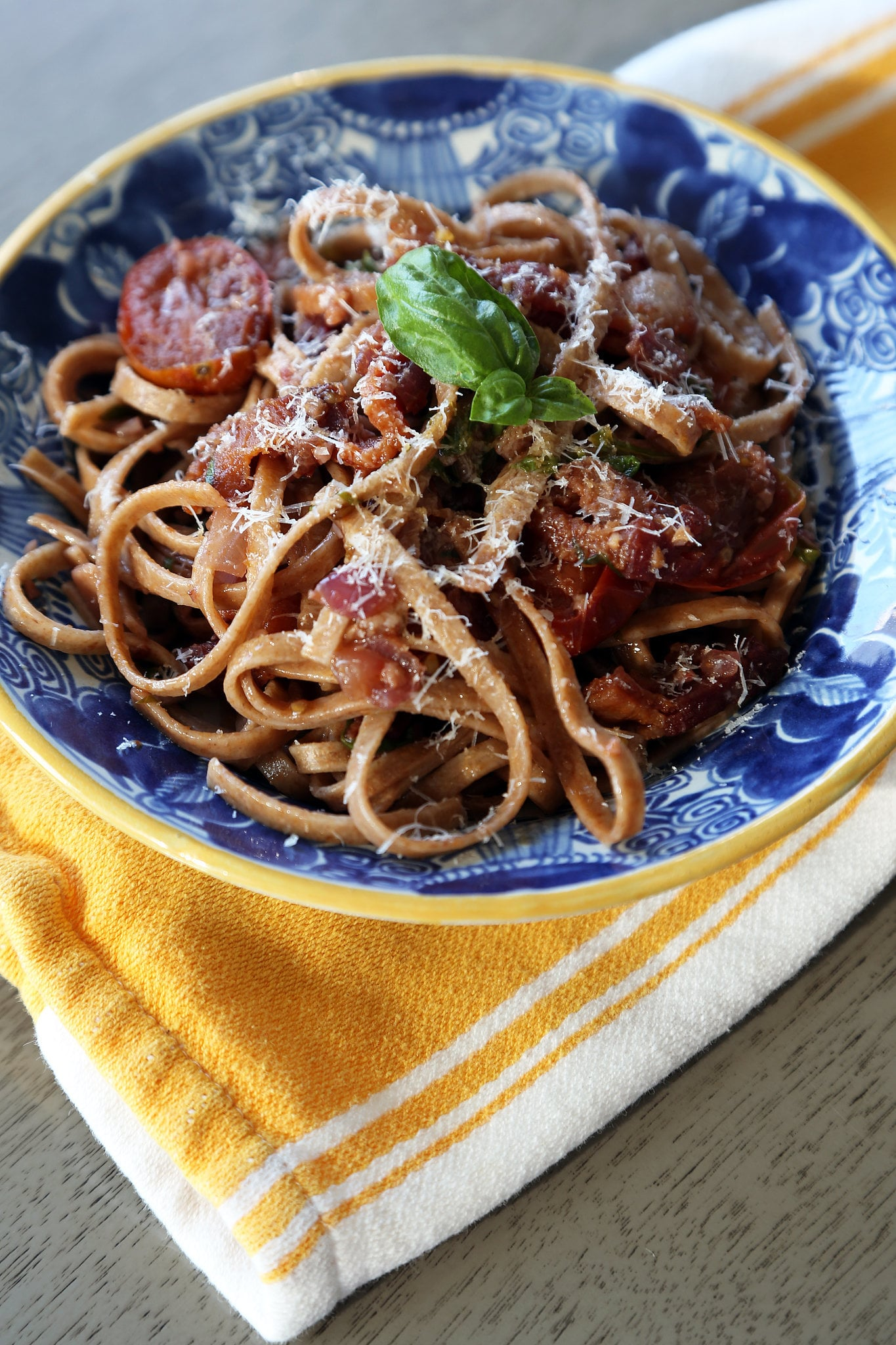 Tomato and Bacon Pasta