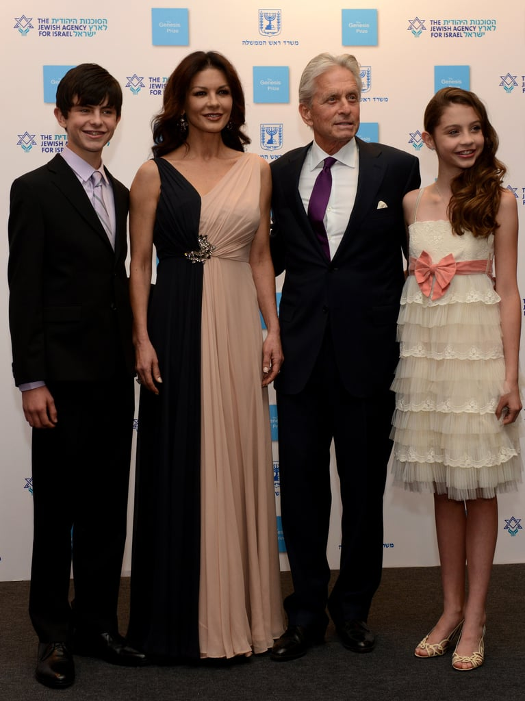 Michael Douglas With Kids on the Red Carpet | POPSUGAR ...