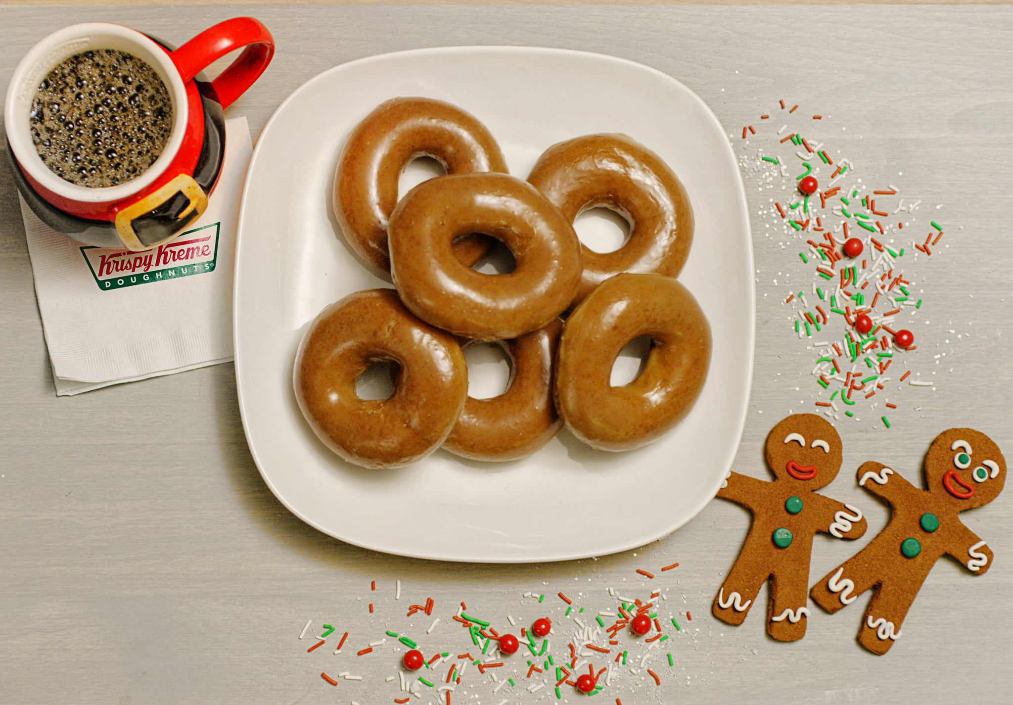 Krispy Kreme Is Making a Gingerbread Glazed Doughnut for One Day Only