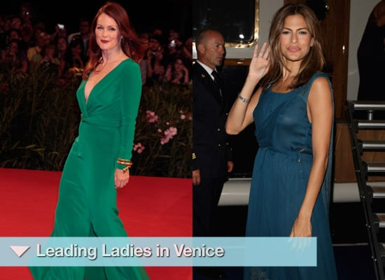 Photos of Eva Mendes, Diane Kruger, Julianne Moore at Venice Film Festival 2009