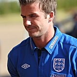 Pictures of David Beckham and England Squad World Cup Friendly