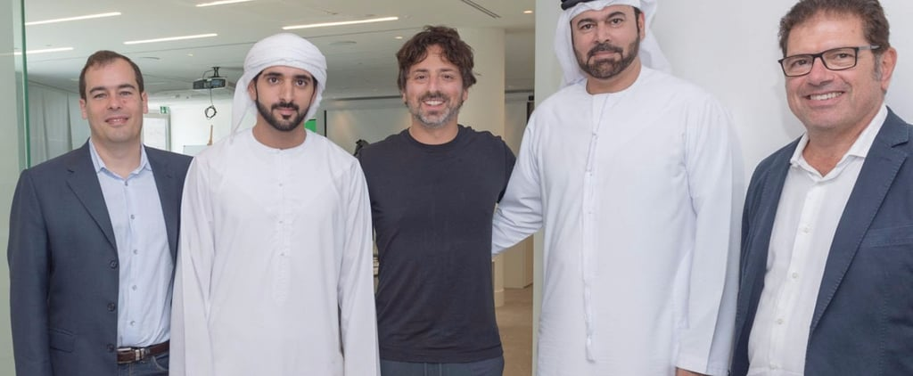Dubai's Crown Prince Met the Founder of Google and Realized They Have 1 Big Thing in Common