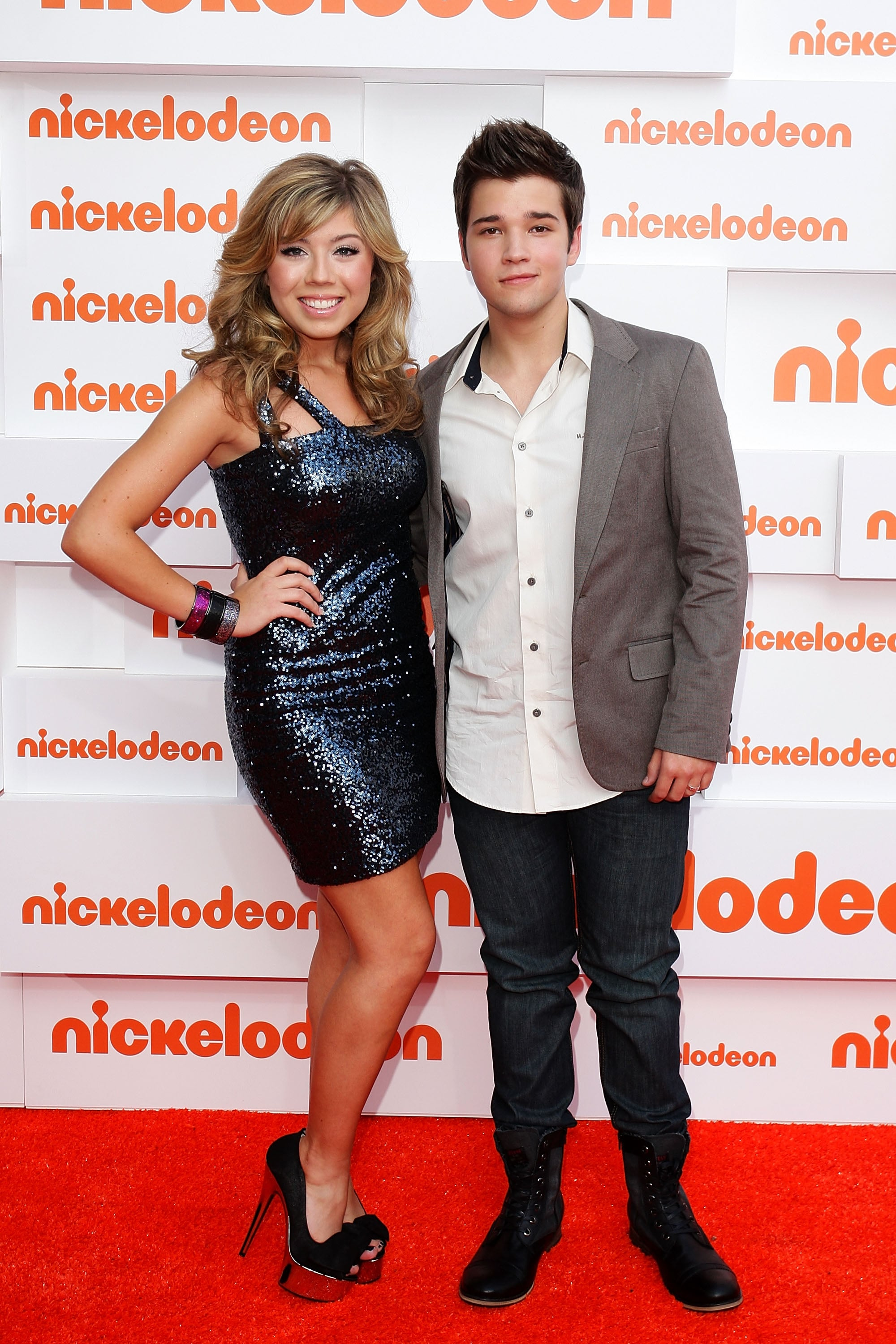Jennette McCurdy and Nathan Kress