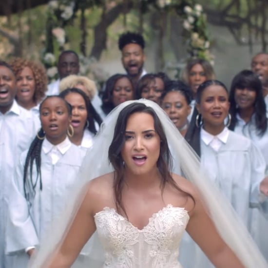 "Demi Lovato Wedding Dress in ""Tell Me You Love Me"" Video"