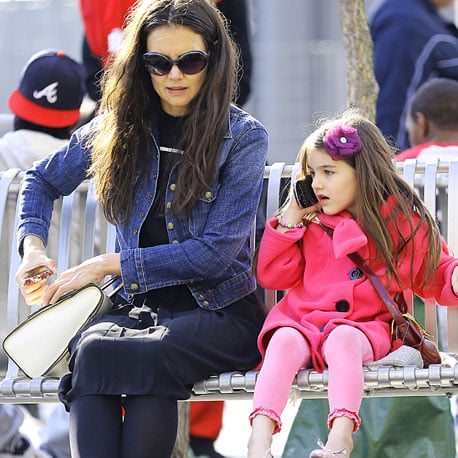 Suri Cruise Gets a Cell Phone | Pictures
