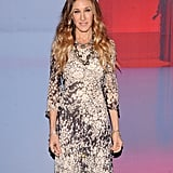 Sarah Jessica Parker was at the IAC headquarters in NYC.