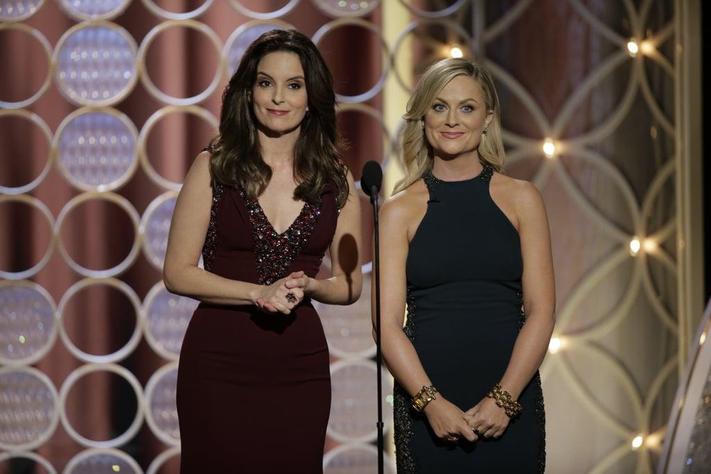 Tina Fey and Amy Poehler Golden Globe Quotes 2014