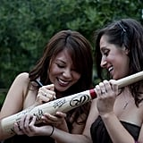 Baseball Bat Guest Book