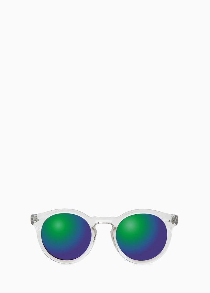 Mango Mirrored Lenses Sunglasses ($30)