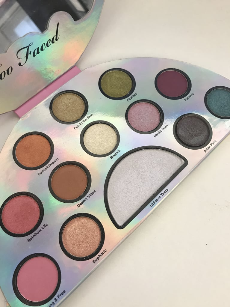 Too Faced Life's a Festival Peace, Love, and Unicorns Eye Shadow Palette ($42)