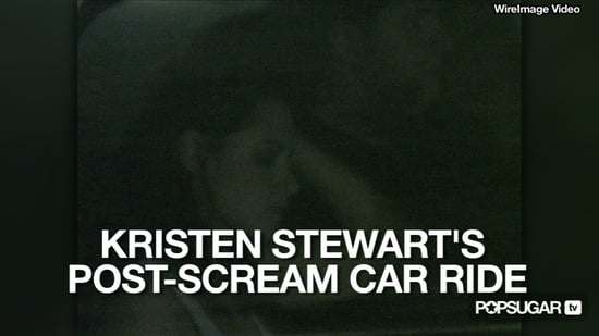 Video of Kristen Stewart After the 2010 Spike Scream Awards 2010-10-18 16:20:49