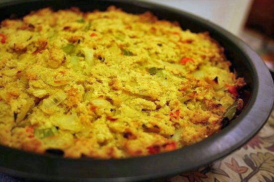 Gluten-Free Thanksgiving: Southern-Style Cornbread Stuffing