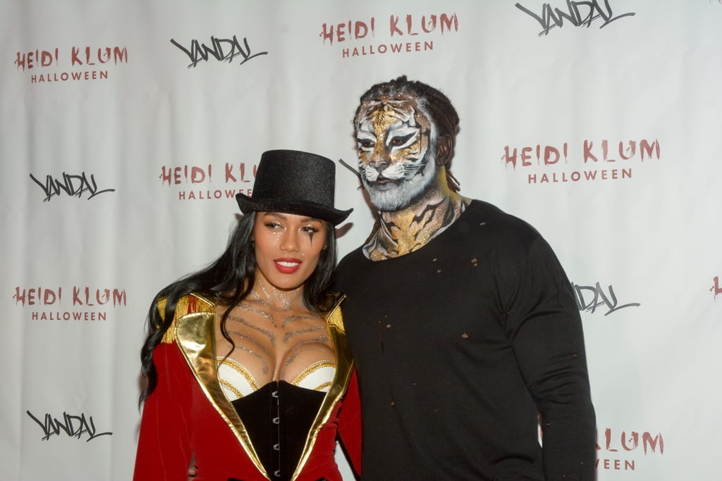 Toi and Kelvin Sheppard as a Ringmaster and Tiger