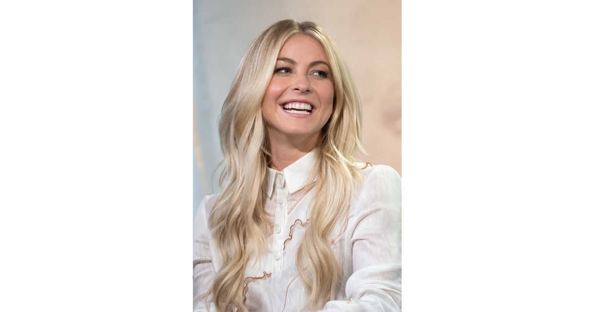 Julianne Hough's Long Hair Extensions July 2016