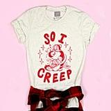 So I Creep Santa Adult Tee