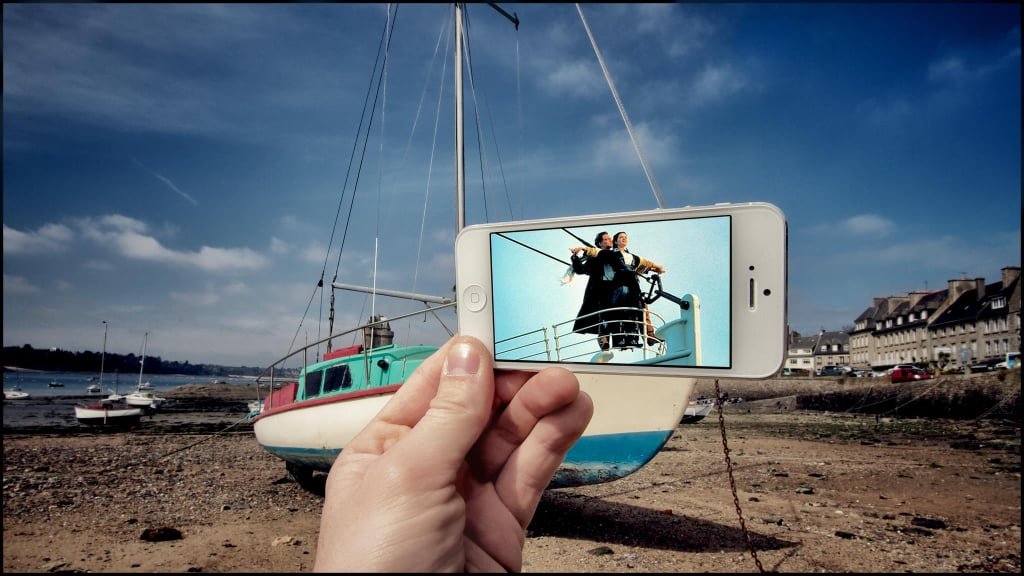 See How an Artist Uses His iPhone to Re-Create Famous Movie Scenes