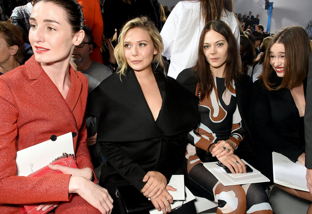 Her Sisters Are Designers, but Elizabeth's Also in the Know — Sitting Front Row at Shows