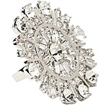Kate Spade New York Glittering Garden Statement Ring ($98)