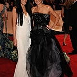Vera Wang with Mila Kunis in her design