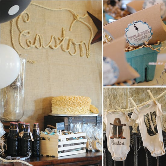 A Western-Themed Baby Shower