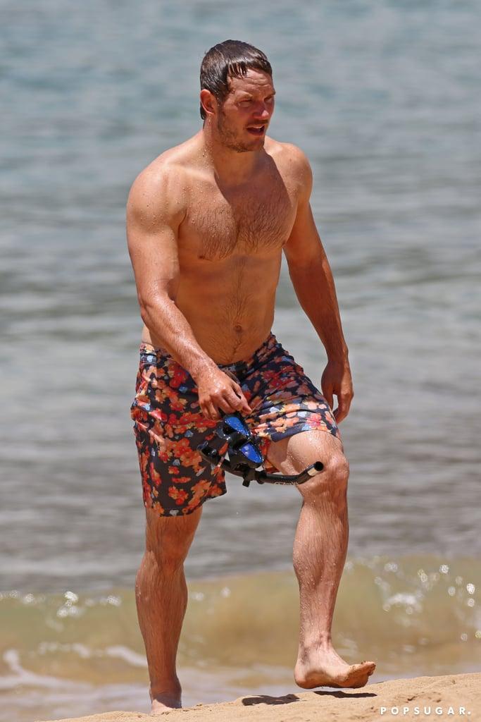 Chris Pratt's Superhero Body